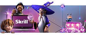 design skrill casino magicien personnages animés machine à sous monnaie