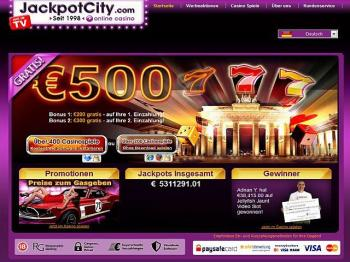 Jackpot City Casino Schweiz